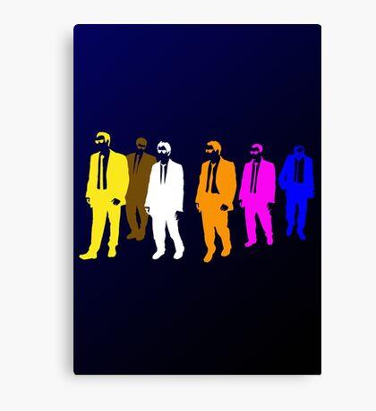 Reservoir Colors with Mr. Blue Canvas Print