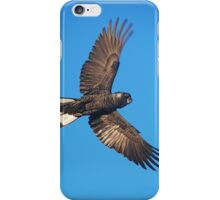 Carnaby's Cockatoo in Full Flight iPhone Case/Skin