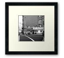 Corner Deli Framed Print