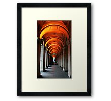 Glowing Iteration Framed Print