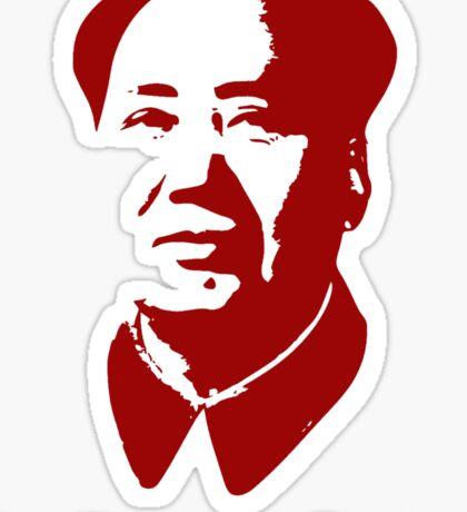 Mao China Mao Problems Sticker