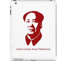 Mao China Mao Problems iPad Case/Skin