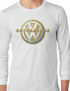 The Volkswagen Emoticon T-Shirt Long Sleeve T-Shirt