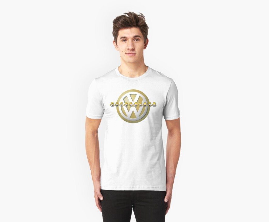 The Volkswagen Emoticon T-Shirt by jay007