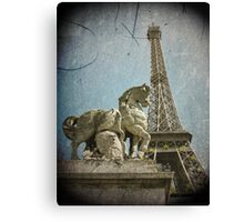 Antiquation Canvas Print