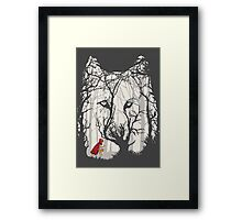 Little Red Framed Print