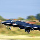Hawker Hunter by Yvonne Falk Ponsford