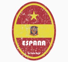 World Cup Football 8/8 - Espana (Distressed) by madeofthoughts