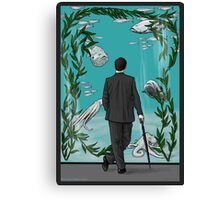 Looking for Goldfish Canvas Print
