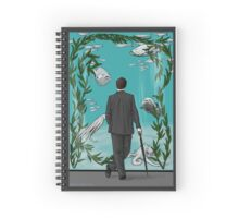 Looking for Goldfish Spiral Notebook