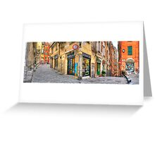 Genoa Alley Greeting Card