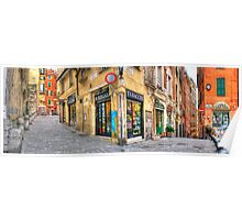 Genoa Alley Poster