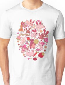 Adorable Bunnies Unisex T-Shirt
