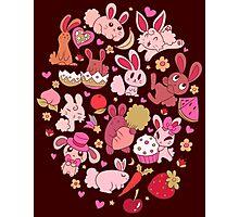 Adorable Bunnies Photographic Print