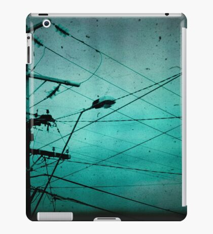 Disconnection iPad Case/Skin