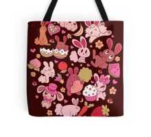 Adorable Bunnies Tote Bag