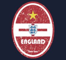 World Cup Football 6/8 - England (Distressed) Kids Clothes