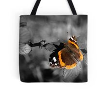 Admiral, Red Admiral Butterfly. Tote Bag