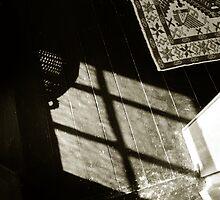 carpet rug and shadowed floor  by ragman
