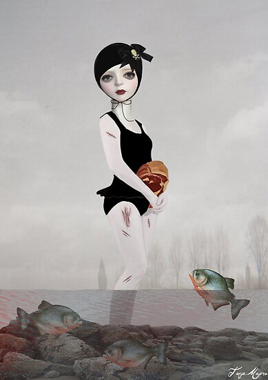 Swimming with the Fishes by Tanya  Mayers