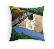 The different point of view of a citadel Throw Pillow