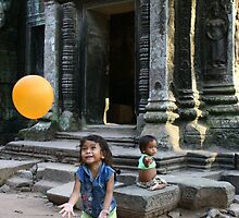 Angkor Children by Trishy