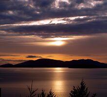 Winter Sunset by Jack McCallum