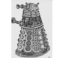Dalek Pattern Photographic Print