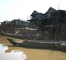 Tonle Sap - Cambodia by Trishy