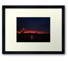 Pink Water Framed Print