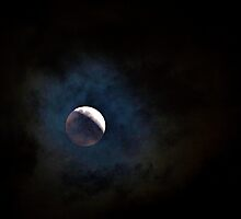 Stormy Moon by njordphoto
