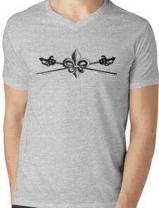 Hope & Steel vintage logo Mens V-Neck T-Shirt