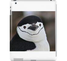 Chinstrap penguin in Antarctica,  Hollywood Headshot   18 iPad Case/Skin