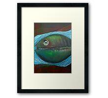 Fish Eye Framed Print