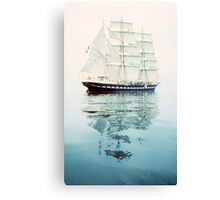 The Belem at sea Canvas Print