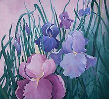 Iris Garden by jillcsmith