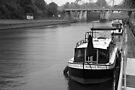 Canal Boat by John Schneider