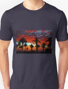 Sunset at St Kilda Beach  T-Shirt