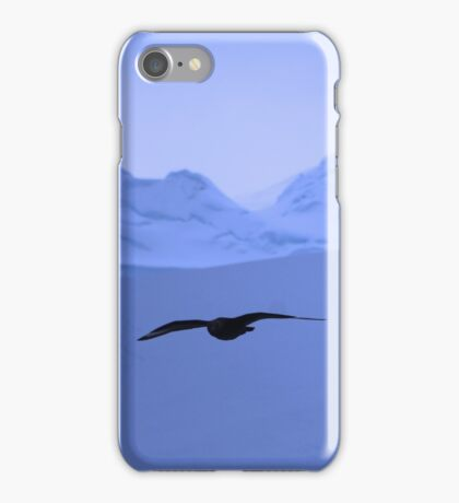 Flying through Antarctica,  Serenity iPhone Case/Skin