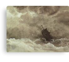 For Those In Peril On The Sea Canvas Print