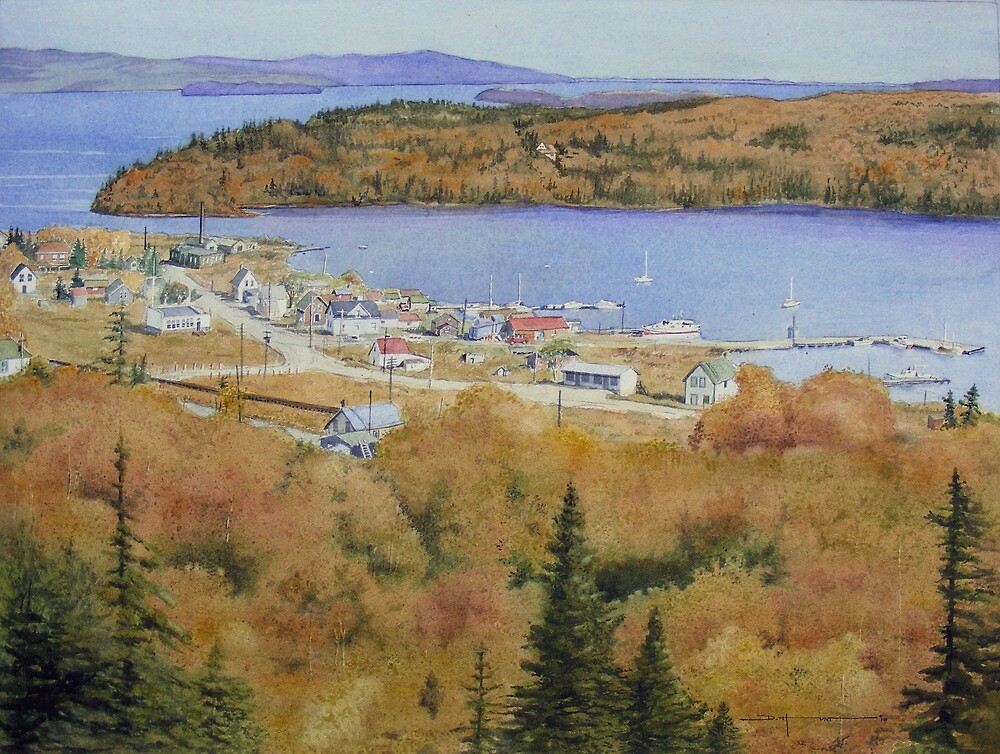 Rossport in the Seventies by Douglas Hunt