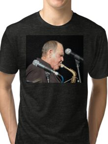 Bernie McGann @ Jazz & Blues Festival 2009 Tri-blend T-Shirt