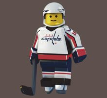 Washington Capitals legoman no 15 by Johannes Wessmark
