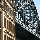 Tyne Bridge in the sun by Jackie Wilson