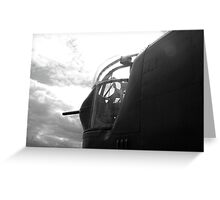 Ball Nose Turret Greeting Card