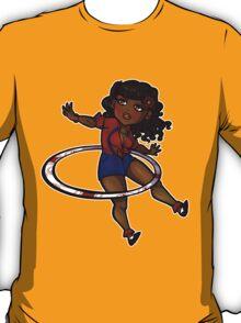 Rockabilly Hula Hoop Girl T-Shirt