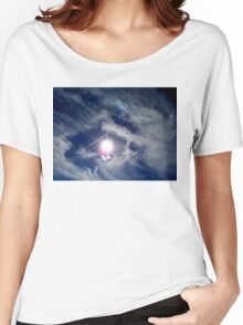 ©HCS The Sun Series LXXVII The Cirrus Motion. Women's Relaxed Fit T-Shirt