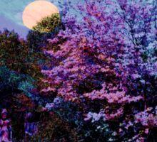 Magic on the Mountain ~ Beltane Twilight Sticker