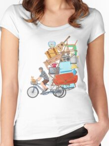 Life on the Move Women's Fitted Scoop T-Shirt