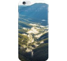 Valley mists iPhone Case/Skin